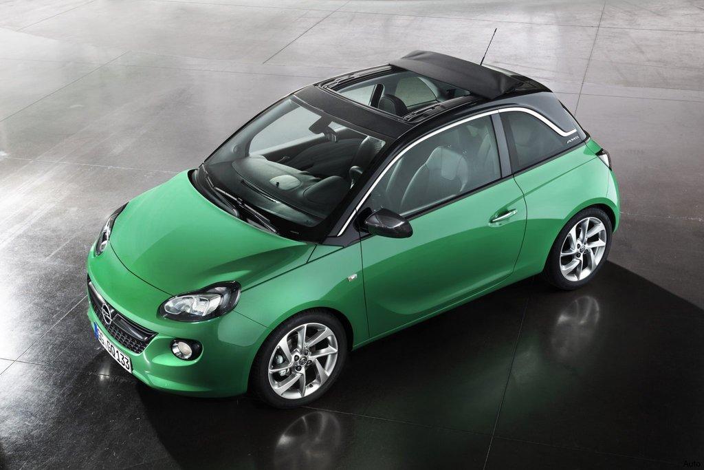 Ecco il il tettuccio in tessuto Swing Top di Opel Adam Air